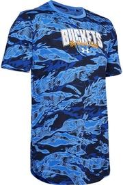 Футболка Under Armour Baseline Verbiage T-Shirt 1351295-486 Blue S