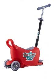 Bērnu skūteris Milly Mally Snoop Multifunctional Ride On 3in1 Red