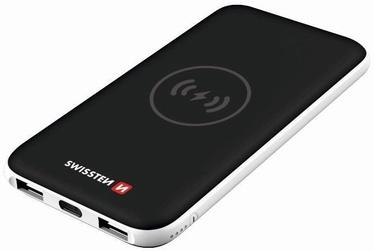 Зарядное устройство - аккумулятор Swissten Slim Recovery, 8000 мАч, черный