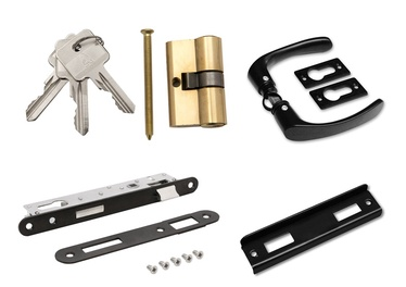 Замок SN Lock Set For Gates With Handle W7663