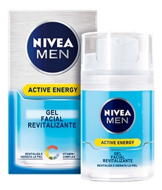 Sejas krēms Nivea Active Energy Revitalizing Facial Gel, 50 ml