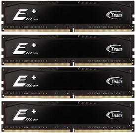 Team Group Elite Plus Black 32GB 2400MHz CL16 DDR4 KIT OF 4 TPKD432G2400HC16QC01