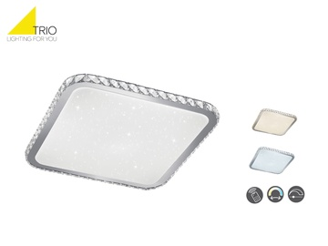 Lampa griestu TRIO Sapporo 677610106, 30W, LED, SMD