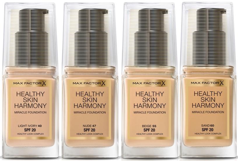 Tonizējošais krēms Max Factor Healthy Skin Harmony Miracle Foundation Soft Honey, 30 ml
