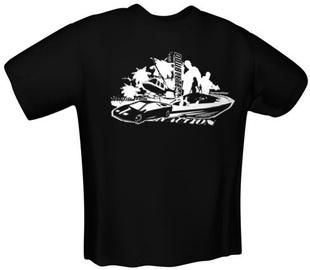 GamersWear Double Team T-Shirt Black S