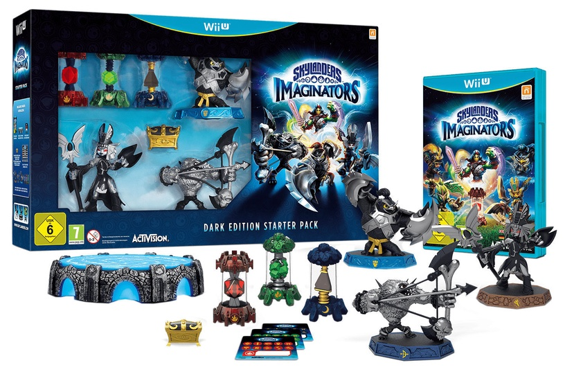 Skylanders: Imaginators Dark Edition Starter Pack Wii U