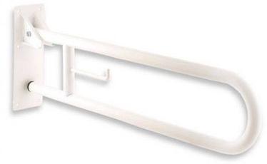 Mediclinics Mediepoxy Swing Up Grab Bar 738mm White