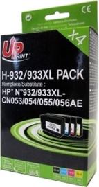 Uprint Cartridge for HP 30ml + 14ml x3 Black