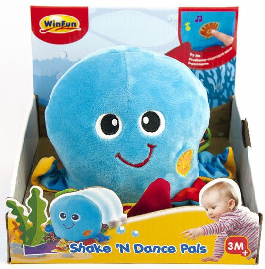 Smily Play WinFun Shake And Dance Octopus 0142