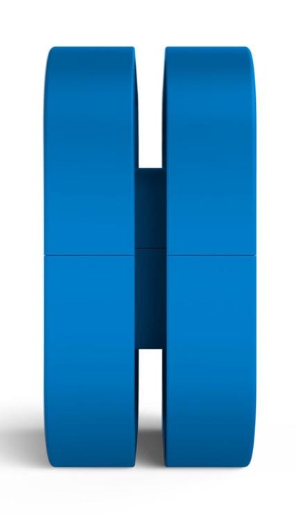 NZXT Puck Headset Mount Blue