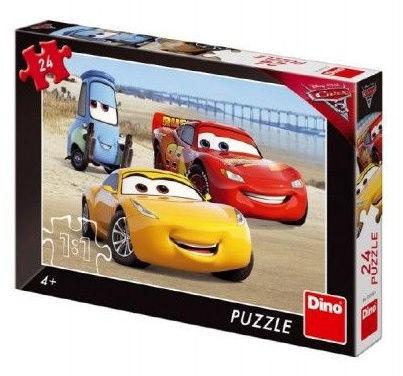 Puzle Dino Disney Cars3, 24 gab.