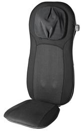 Массажный стул Medisana Pro Shiatu Massage Seat Cover 88970 Black, 48 Вт, черный