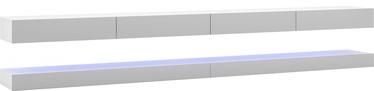 ТВ стол Vivaldi Meble Fly Double, белый/серый, 2800x340x450 мм