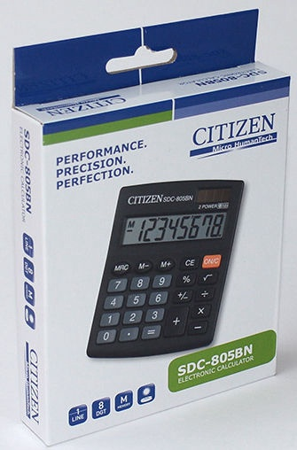 Citizen Office Calculator SDC-805BN