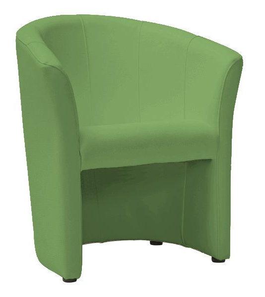Atzveltnes krēsls Signal Meble TM-1 Green, 67x60x76 cm