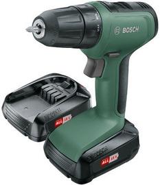 Bosch UniversalDrill 18 Cordless Drill with 2x1.5Ah Batteries