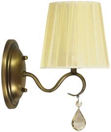 Candellux Fiesta 21-04420 1x40W E14 Wall Lamp Brass