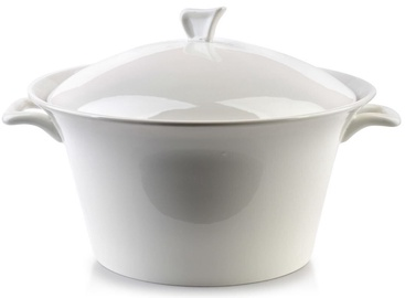 Mondex Basic Vase With Lid White