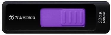 USB флеш-накопитель Transcend Jet Flash 760 Black/Purple, USB 3.0, 32 GB