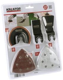 Наборы Kreator Multi Purpose Tool Accessory Set 23pcs