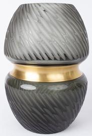 Ваза Home4you Luxo, золотой, 200 мм