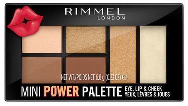 Rimmel London Mini Power Palette 6.8g 002