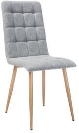 Ēdamistabas krēsls Signal Meble Otto Dab/Grey, 1 gab.