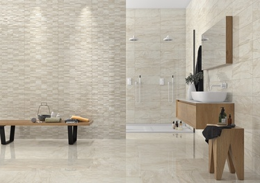 Stn Ceramica Savona Cream Br Wall Tiles 200x600mm Beige