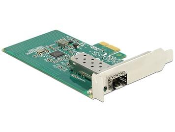 Paplašināšanas karte Delock PCI Express x1 Card 1 x SFP Gigabit LAN i210