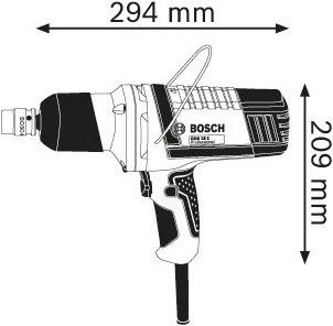 Bosch GDS 18 E Impact Wrench