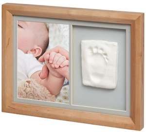 Baby Art Tiny Touch Wooden Wall Print Frame Honey