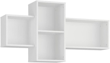 Plaukts Tuckano Bella 09 White, 1210x650x290 mm