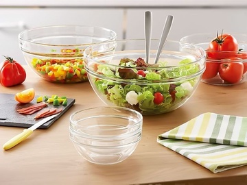 Luminarc Empilable Salad Bowl with Lid 14cm