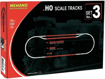 Mehano Blister HO Scale Rails Tracks Set No.3 F103