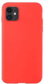 Hurtel Soft Flexible Rubber Back Case For Apple iPhone 11 Red