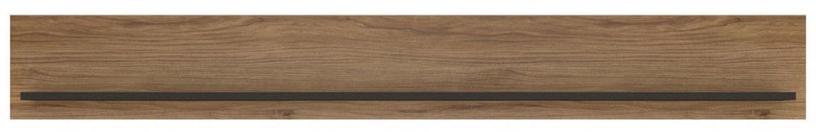 Meble Wojcik Brolo BROP01 Hanging Shelf Catania Oak/Black Pearl