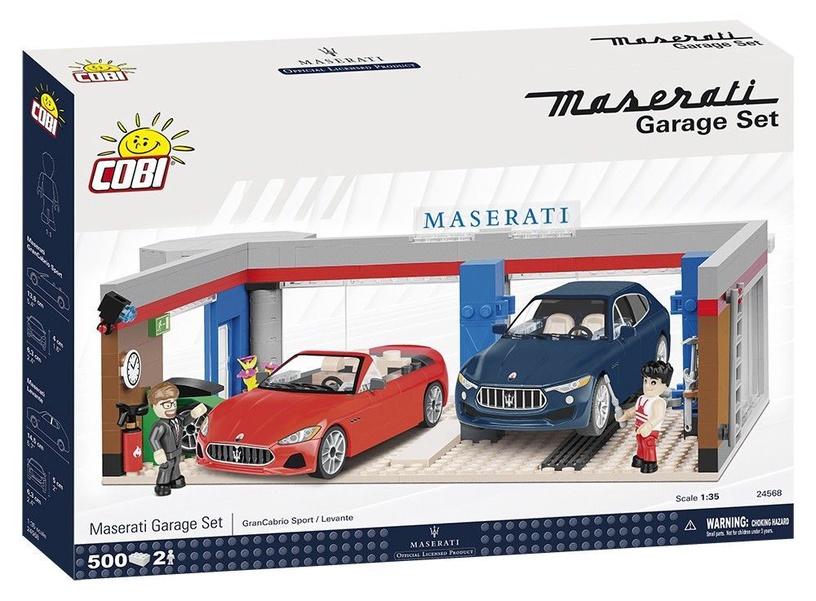 Konstruktors Cobi Constructor Maserati Garage 24568