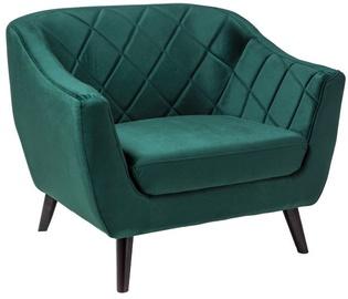 Atzveltnes krēsls Signal Meble Molly 1 Velvet Green, 83x78x105 cm