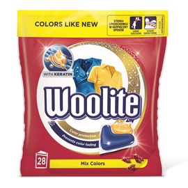Tīrošs WOOLITE Gel Caps Color 28x22g