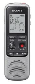Diktofons Sony ICD-BX140 Mono, 4 GB