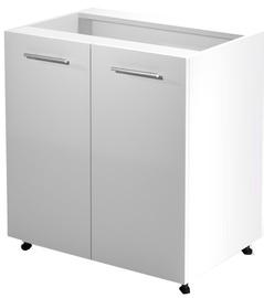 Нижний кухонный шкаф Halmar Vento D-80/82 Honey Oak, 800x520x820 мм