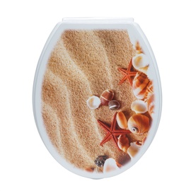 Tualetes poda vāks Karo-plast Starfish 46x37x4cm