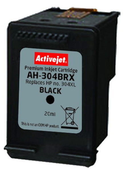 ActiveJet Cartridge AH-304BRX 20ml Black