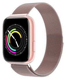 Viedais pulkstenis Garett Eva, rozā