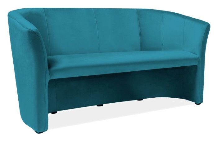 Signal Meble TM-3 Velvet Sofa Turquoise