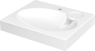 Izlietne claro mini sifons kronš 60x50cm