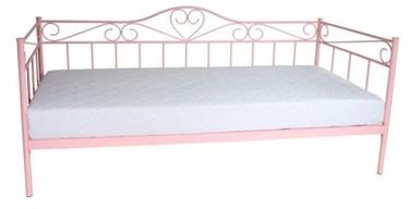 Кровать Signal Meble Birma Pink, 90 x 200 cm