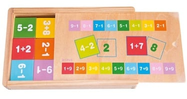 Woodyland Learning Maths In Wooden Box 90898