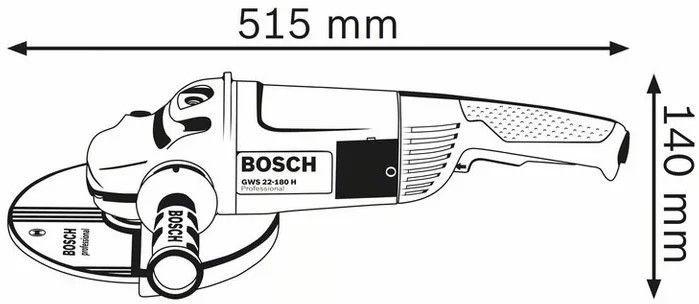 Bosch GWS 22-180 JH Angle Grinder
