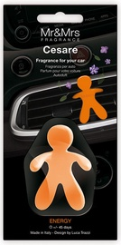 Mr & Mrs Fragrance Cesare Car Air Freshener 1pc Energy